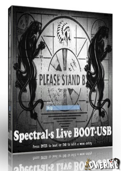 Spectrals Live Boot USB 2.0