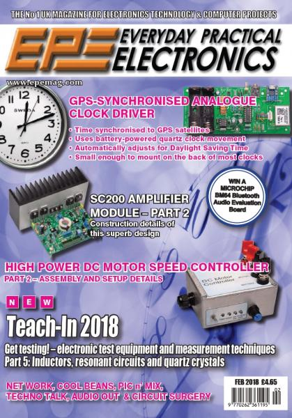 Everyday Practical Electronics №2 (February 2018)