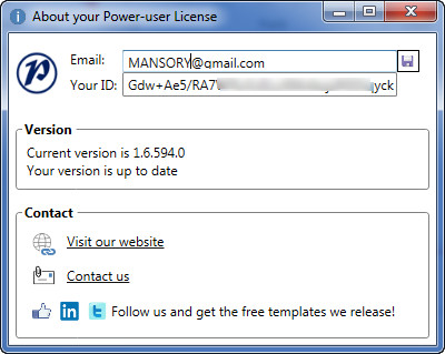 Power-user for PowerPoint and Excel 1.6.594.0