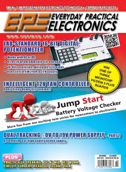 Everyday Practical Electronics №7 (July 2012)